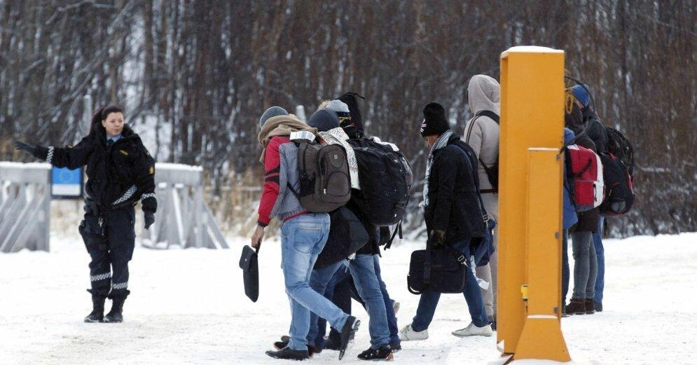 Норвегия пересечение границы