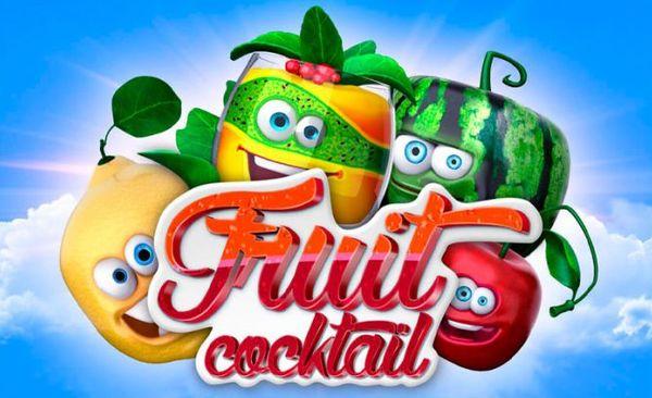 Игровой автомат Fruit Cocktail в казино Вулкан Делюкс