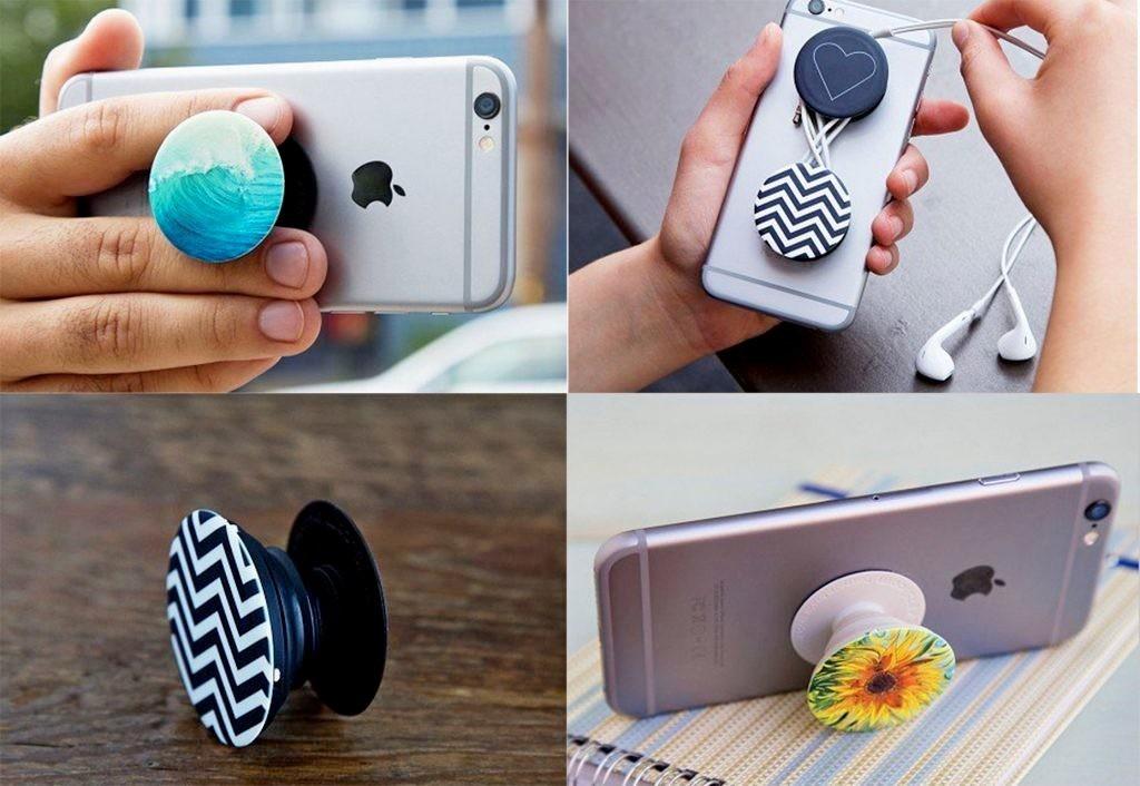 Где используют держатели для мобильных телефонов
