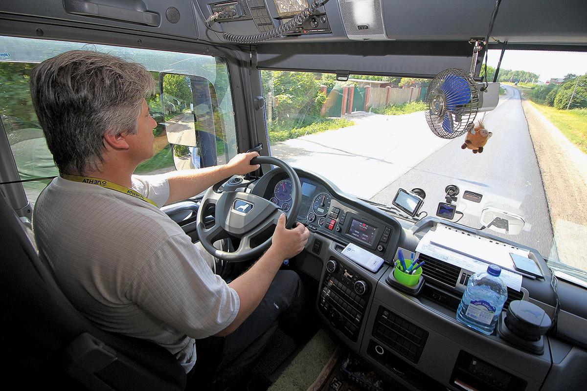 Курсы для улучшения навыков управления грузовыми машинами