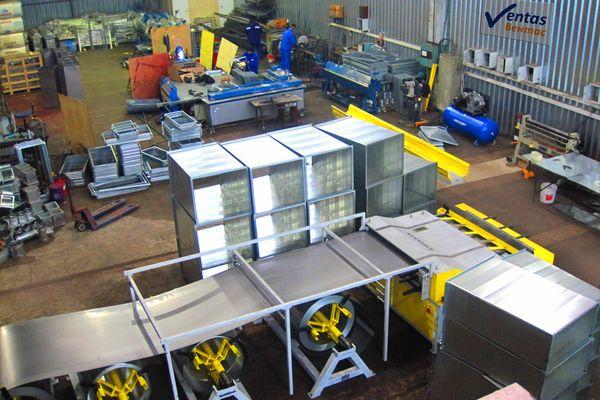 Производство вентиляционного оборудования от компании Вентас